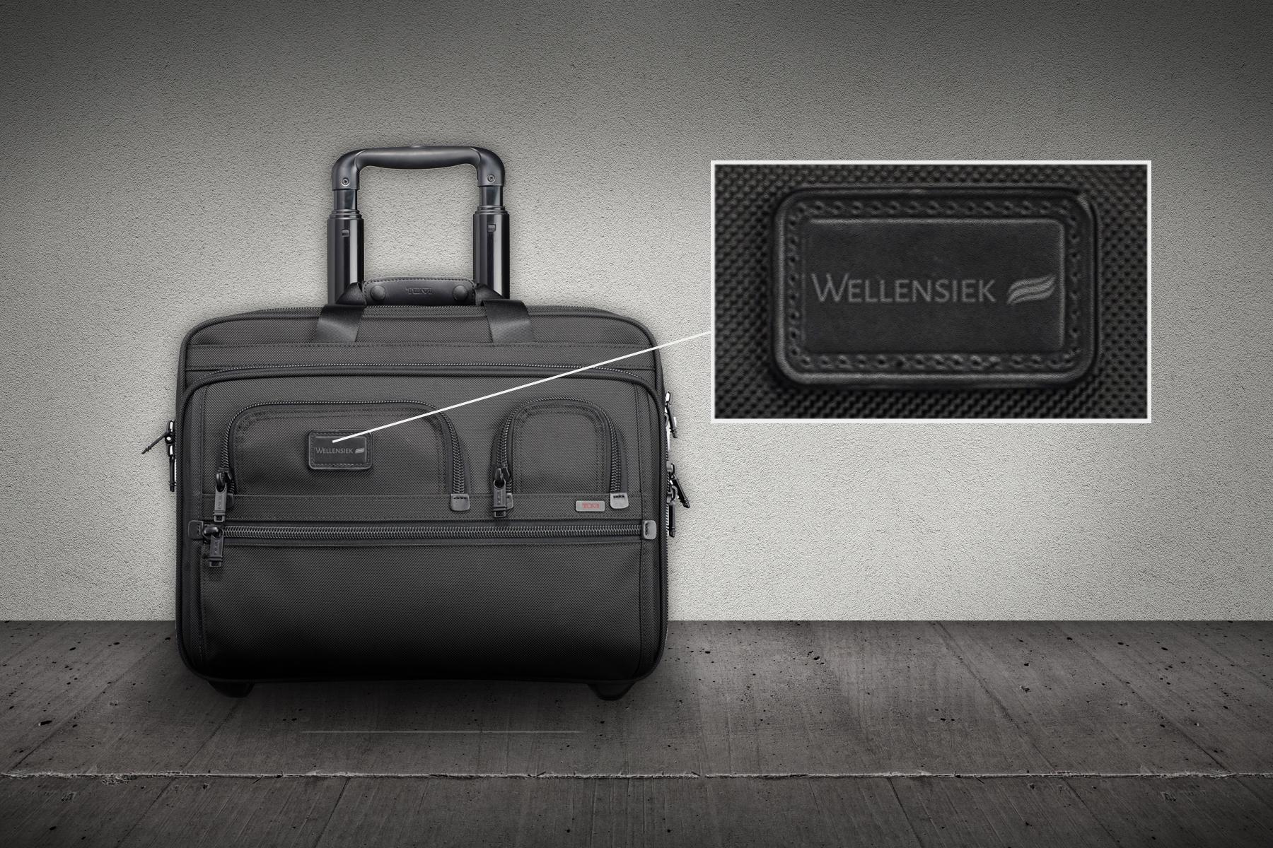 Business-Koffer mit Wellensiek-Label